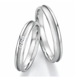 Verlobungsringe Edelstahl, Trauringe mit Diamant