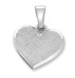 Herz Anhänger aus 925 Sterling Silber