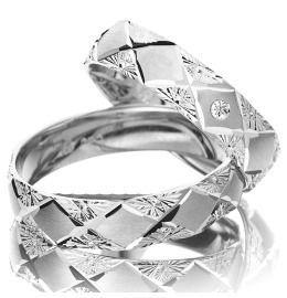 Trauringe Weißgold Diamant