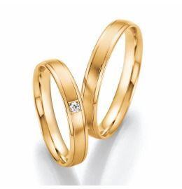 Gelbgold Trauringe Eheringe klassisch romantisch