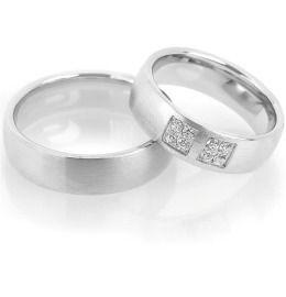 Silberringe für Paare