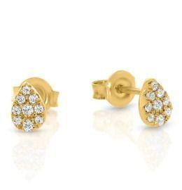 Ohrringe vergoldet Damenschmuck 925 Silber