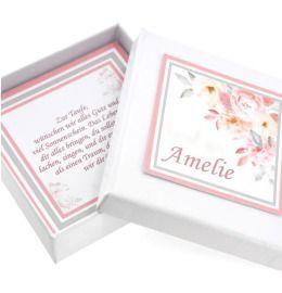 personalisiert Geschenkschachtel Schmuck Box für Kette Armband