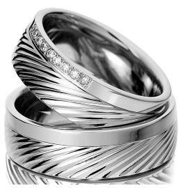 Trauringe Palladium Diamanten schlichte Eleganz