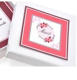Schmuck Box für Kette Armband personalisiert Geschenkschachtel