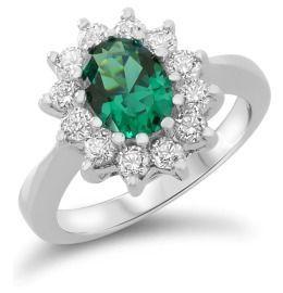Silberring royal zur Verlobung