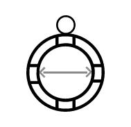Ringgrößenermittler - Ring